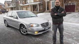 William Ha and his Nissan Maxima