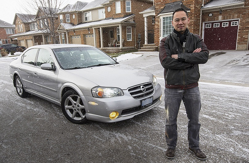 William Ha and his Nissan Maxima