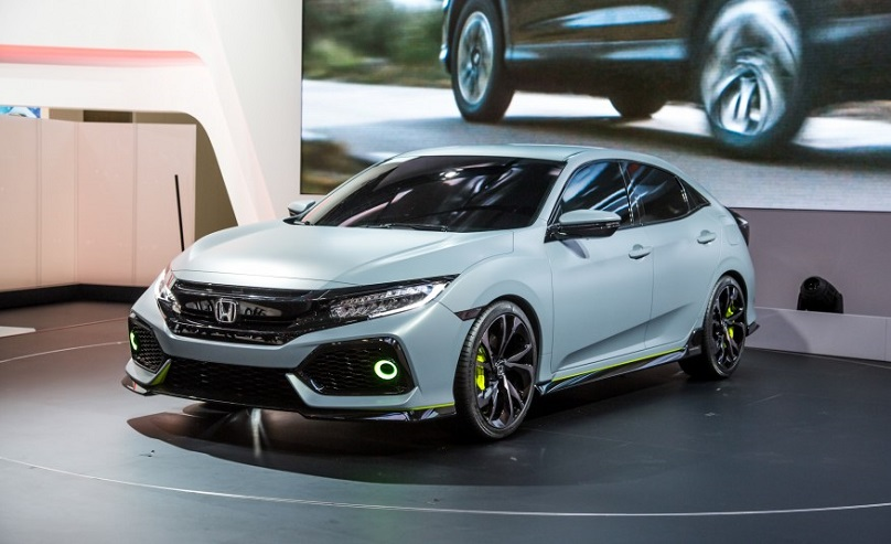 Honda Civic Hatchback concept comes to New York - WHEELS.ca