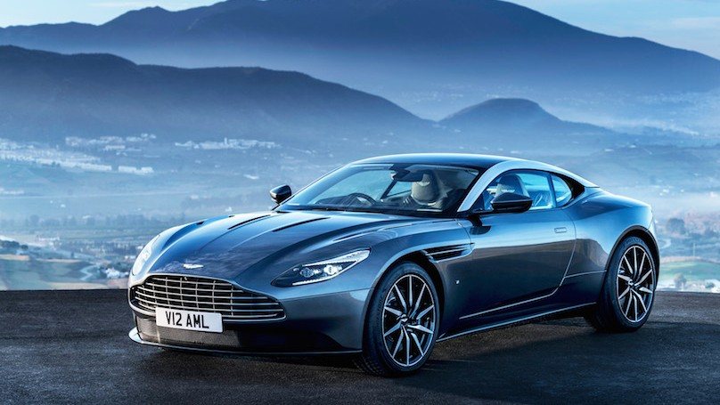 Aston Martin Simul-Launches DB11 in Geneva and Singapore
