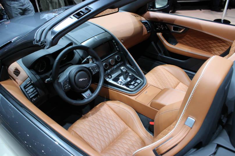 f type svr interior