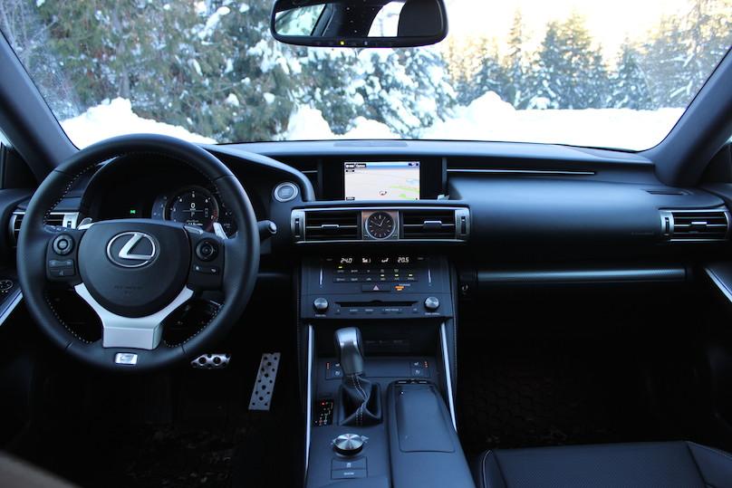 is 350 f sport interior