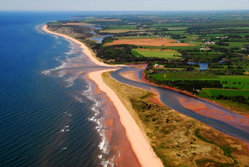PEI Aerial View Photo Credit