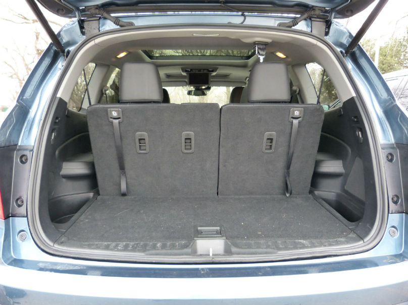 The Honda Is The Clear Winner For Cargo Capacity, Delivering Up To 717  Litres More Space Than In The Toyota When All Of The Rear Seats Are Folded.