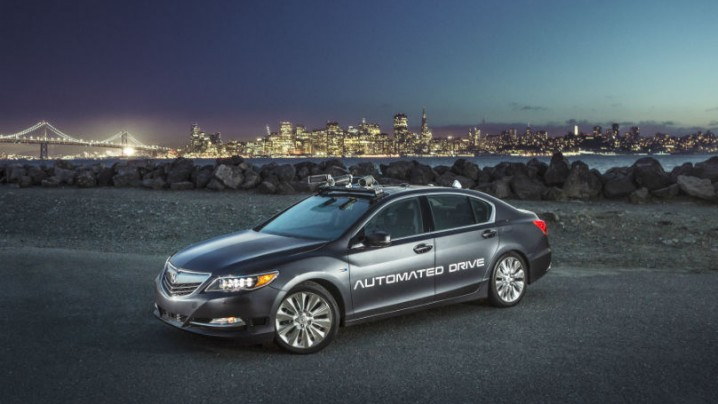 Acura autonomous progress