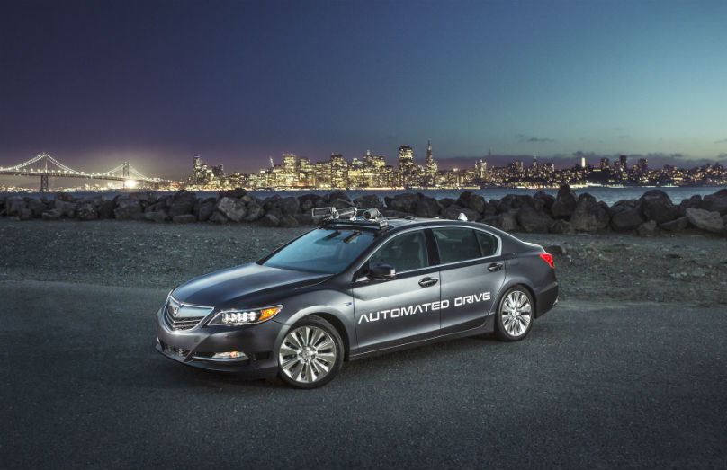 Acura autonomous progress