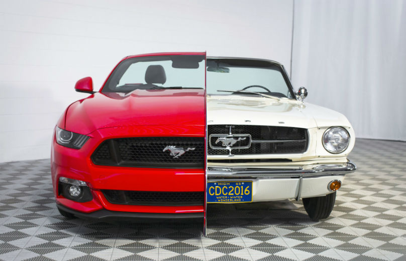 Ford Mustang 50 year