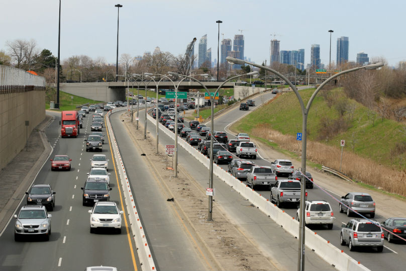 Gardiner Expressway : Letters pros and cons to gardiner traffic wheels