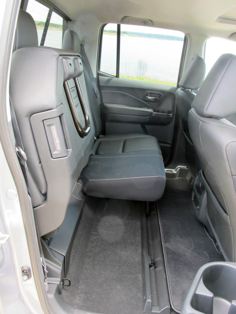 ridgeline back seats