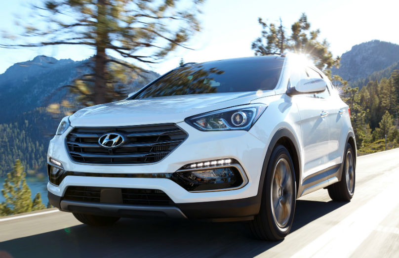 Hyundai Santa Fe safety