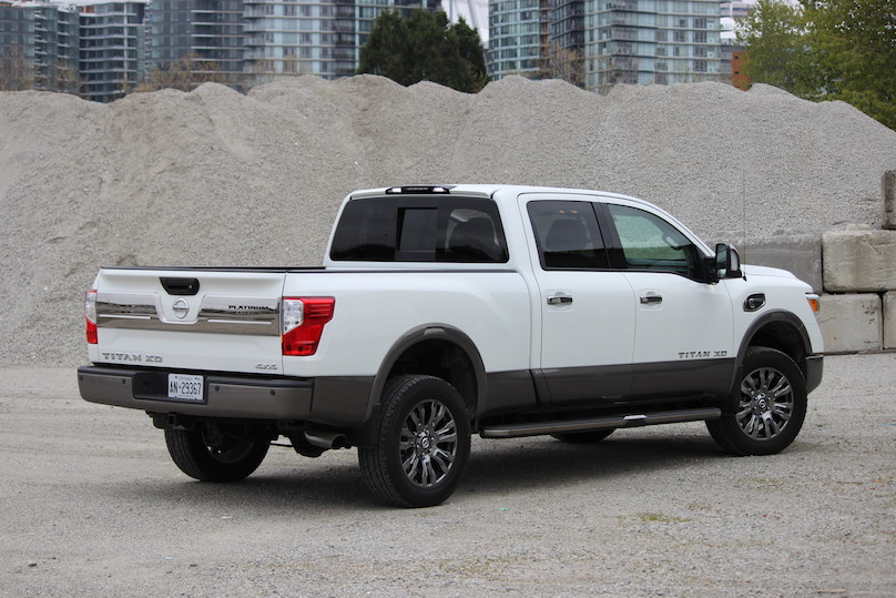 2016 nissan titan xd diesel the middle ground. Black Bedroom Furniture Sets. Home Design Ideas