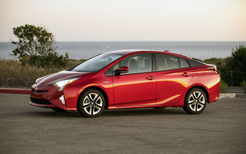 Toyota hybrid sales landmark