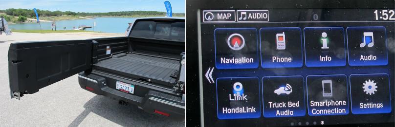 ridgeline truck audio