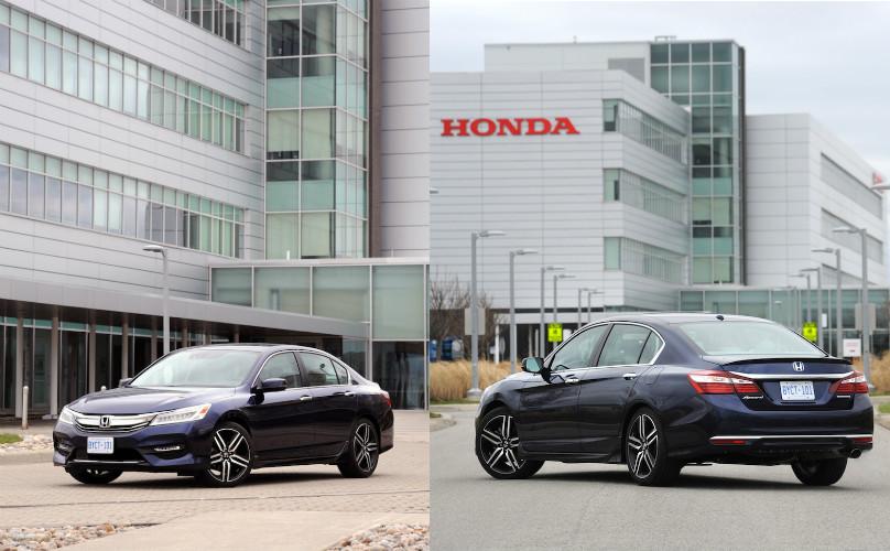 Honda accord touring