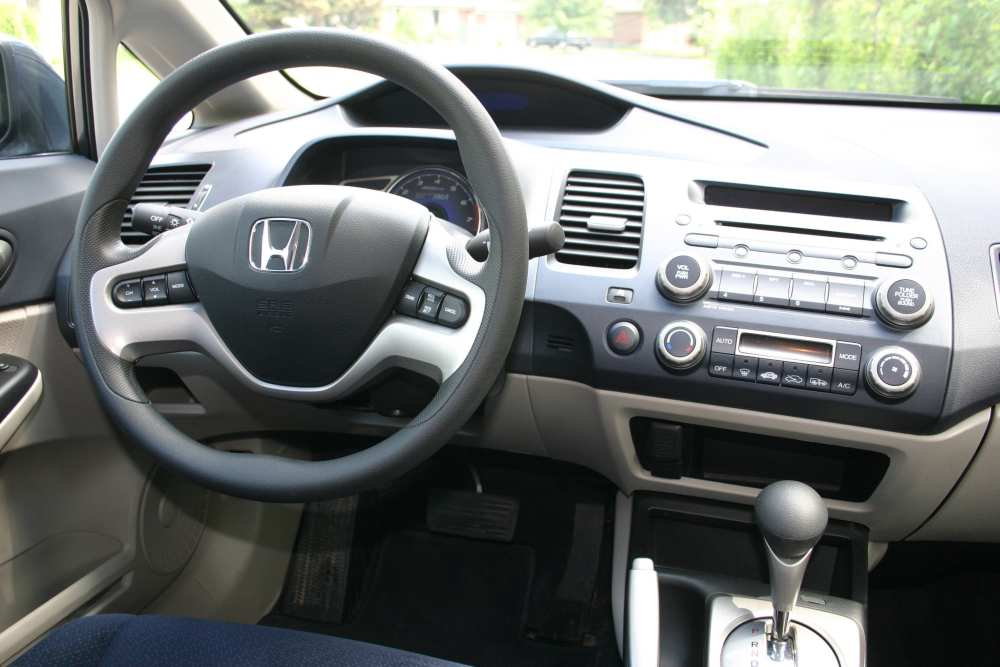 second hand 2006 11 honda civic hybrid civic s hybrid version is lacking in energy. Black Bedroom Furniture Sets. Home Design Ideas