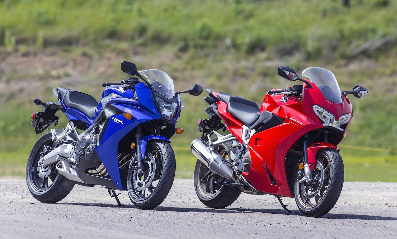 Review 2014 Honda Vfr800 Wheels Ca