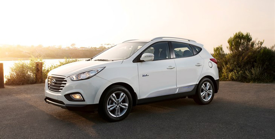 2015 Hyundai Tucson Fuel Cell at the Canadian International Auto Show