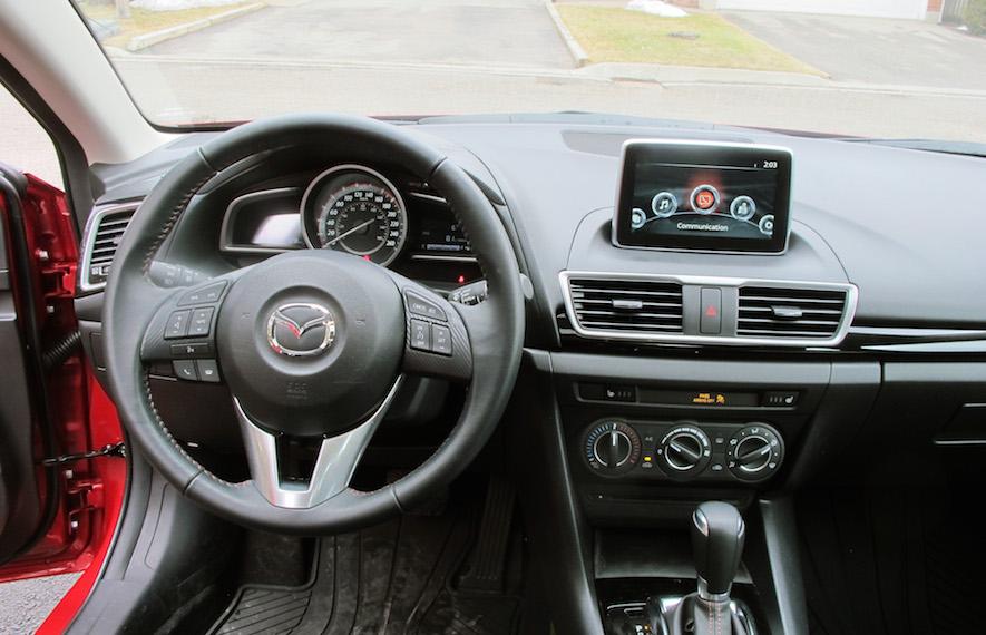 2015 Mazda 3 Gs Sedan Review Wheels Ca
