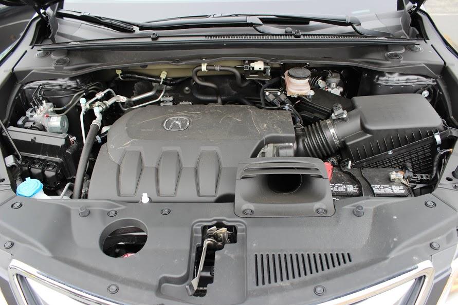 2015 Acura RDX Tech engine