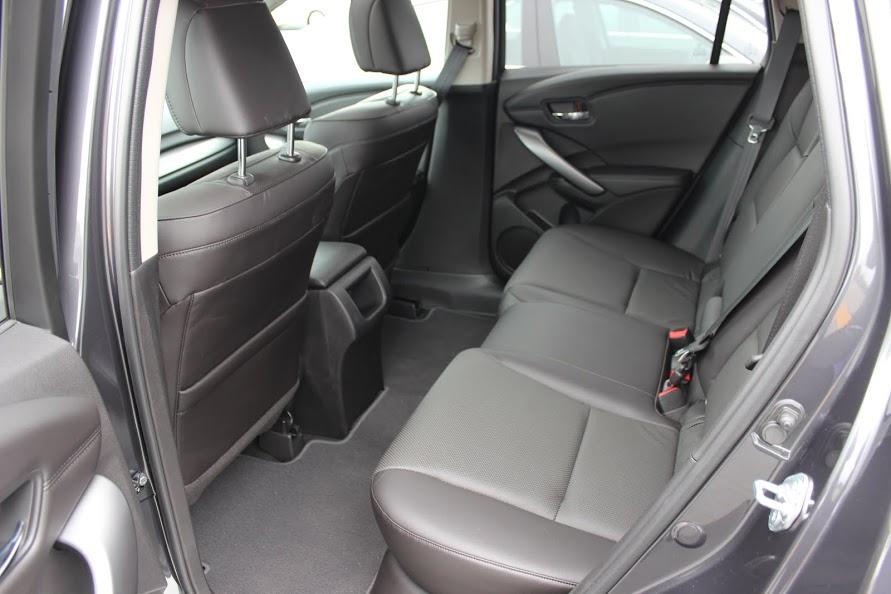 2015 Acura RDX Tech rear seat