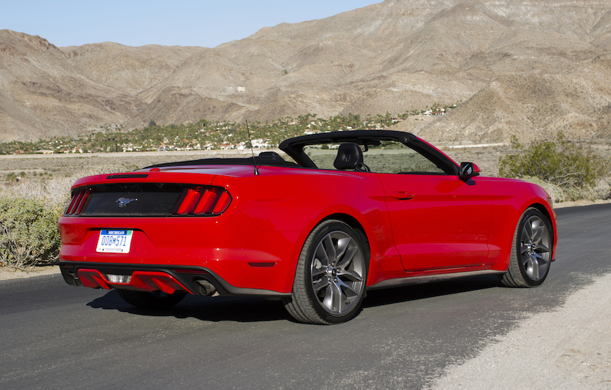Mustang Convertible Car Rental Toronto