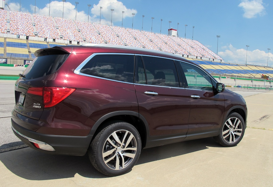 2016 honda pilot mid size cuv review. Black Bedroom Furniture Sets. Home Design Ideas