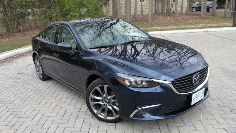 2016 mazda 6 grand touring review. Black Bedroom Furniture Sets. Home Design Ideas