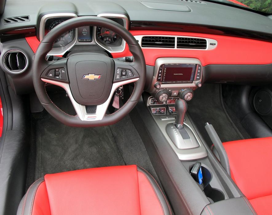 2015 Chevrolet Camaro Ss Convertible Review Wheels Ca