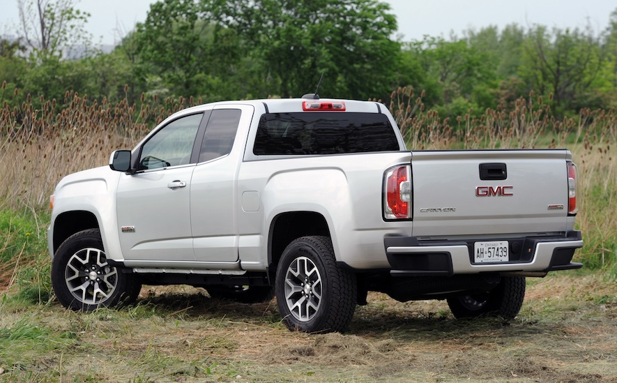 2015 gmc canyon sle 4wd extended cab review canyon news newslocker. Black Bedroom Furniture Sets. Home Design Ideas