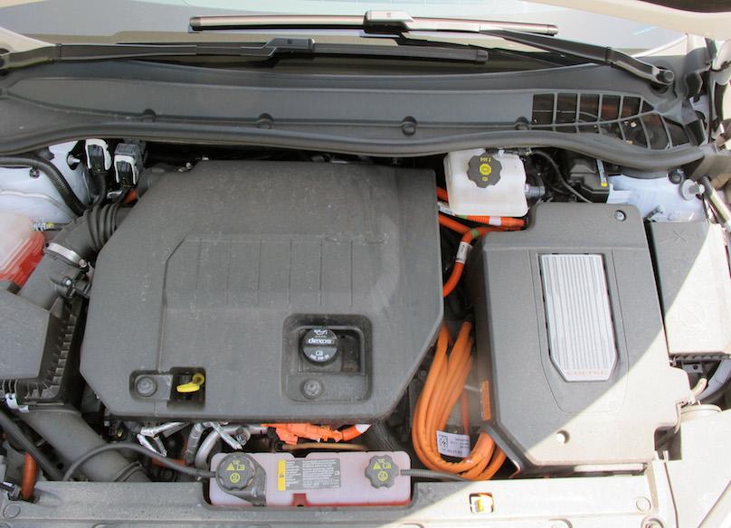 2015 Chevrolet Volt motor