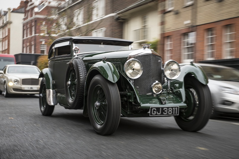 The 1935 Bentley Mark IV Drophead 3.5 Litre