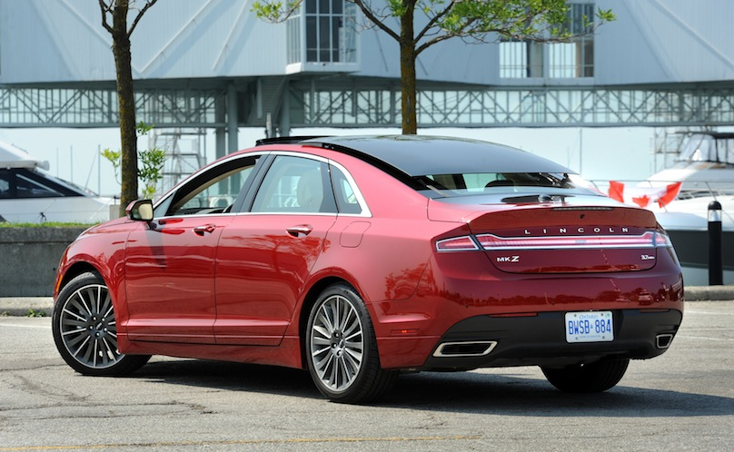 2015 Lincoln Mkz 3 7 Awd Review Wheels Ca