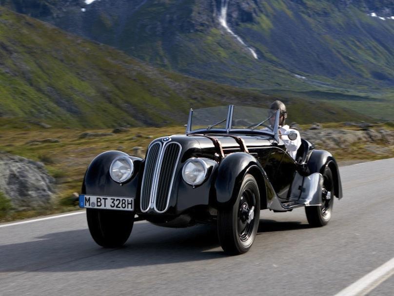 Bmw vintage car think