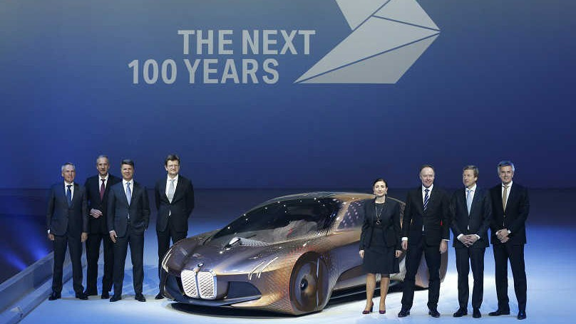 BMW Looks Forward To The Next 100 Years