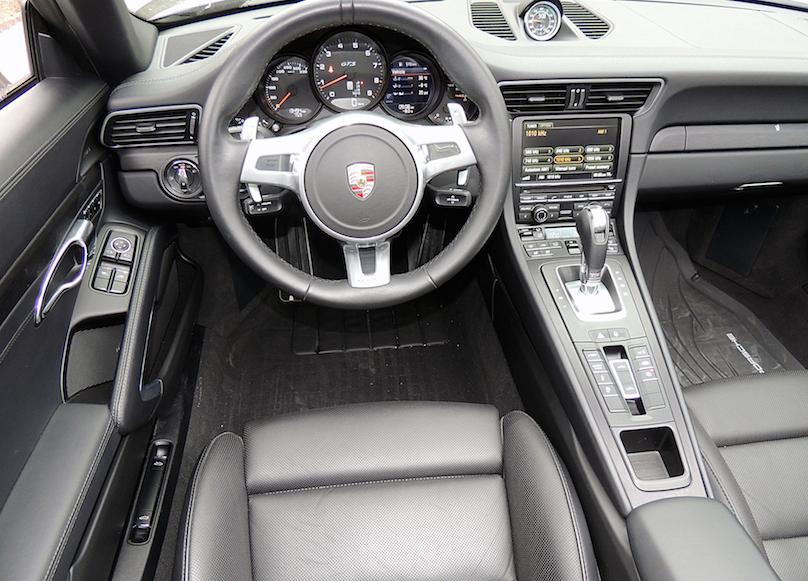 Low Slung Porsche 911 Targa Good Fun In The Snow Wheels Ca
