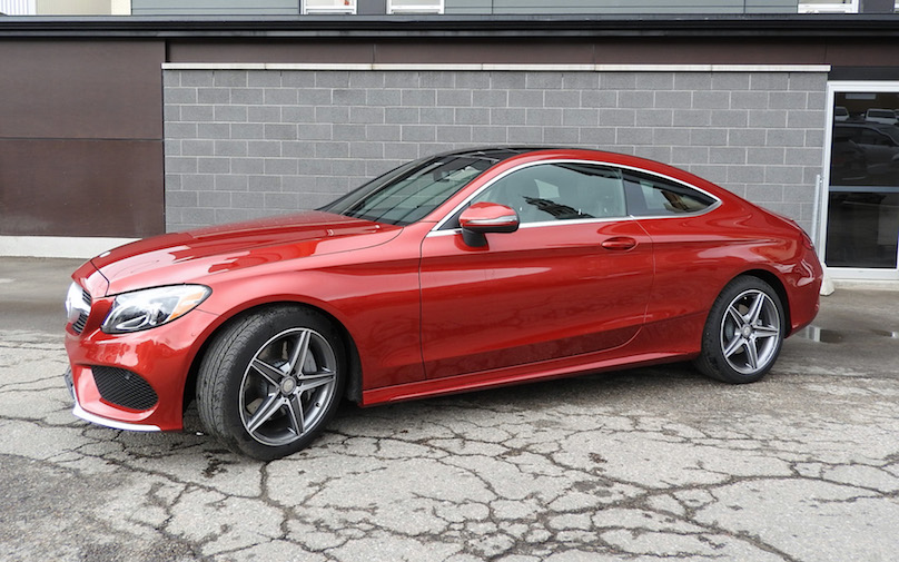 Mercedes C Class Coupe Offers Luxury And Performance Wheels Ca